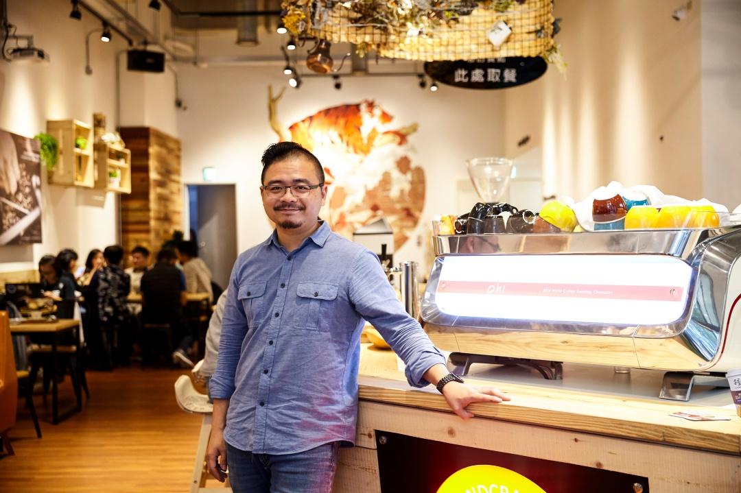 由世界烘焙冠軍端出的精品咖啡,台北店話題登場!