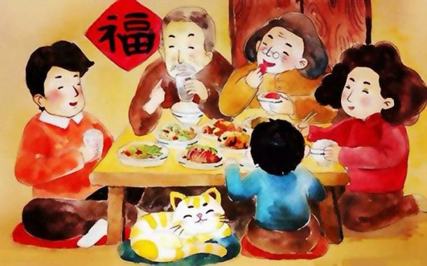 過年的滋味:回家,每一口食物,都是愛!