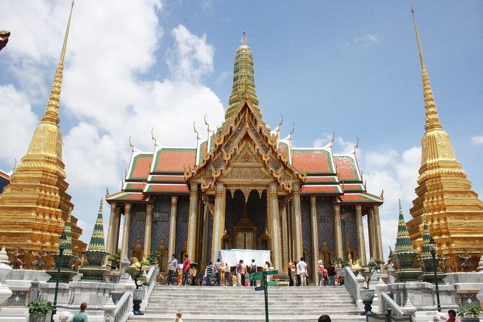 曼谷的寺廟-安可人生