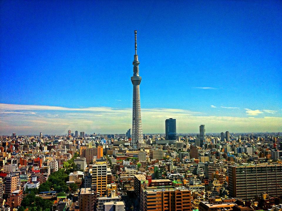 東京的晴空塔-安可人生