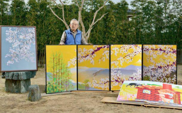 Excel界的米開朗基羅 77歲堀内辰男從門外漢畫到開畫展