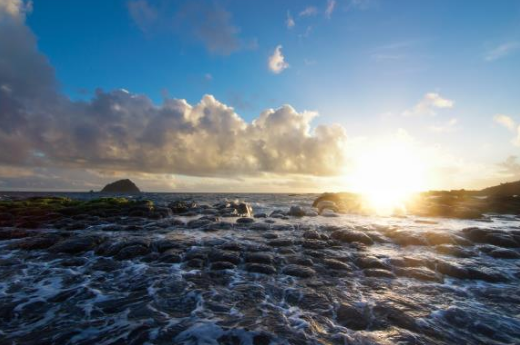 老基隆故事|上帝創造 天使喜極而泣的海灣
