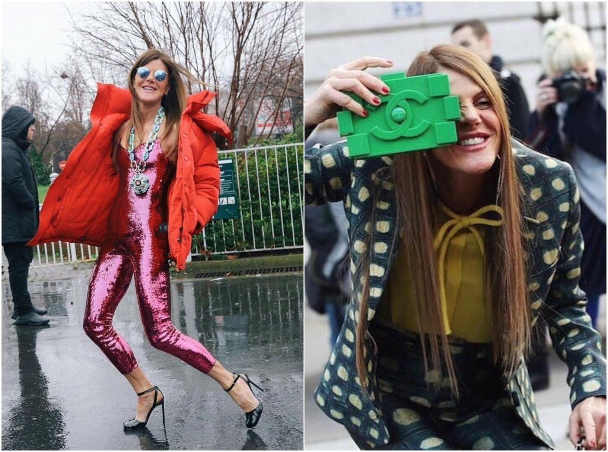 """""""衣""""不驚人死不休,時尚界最狂的蕭婆Anna dello Russo"""