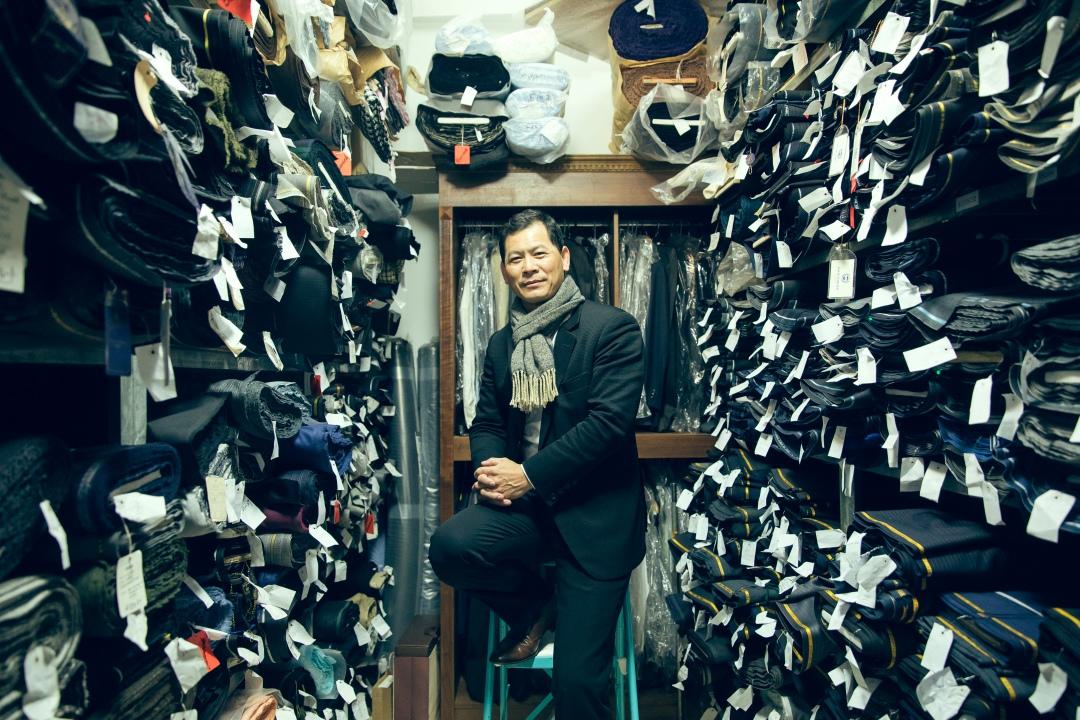 商賈之地|重振訂製西服 把師父一甲子的好手藝留在台灣