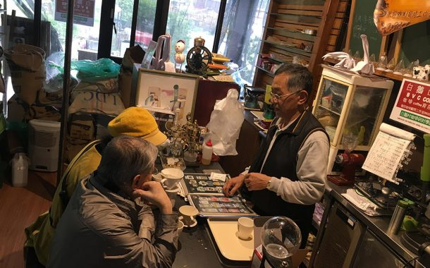 張敏郎把日式咖啡帶進台灣,退休後用免費咖啡交朋友