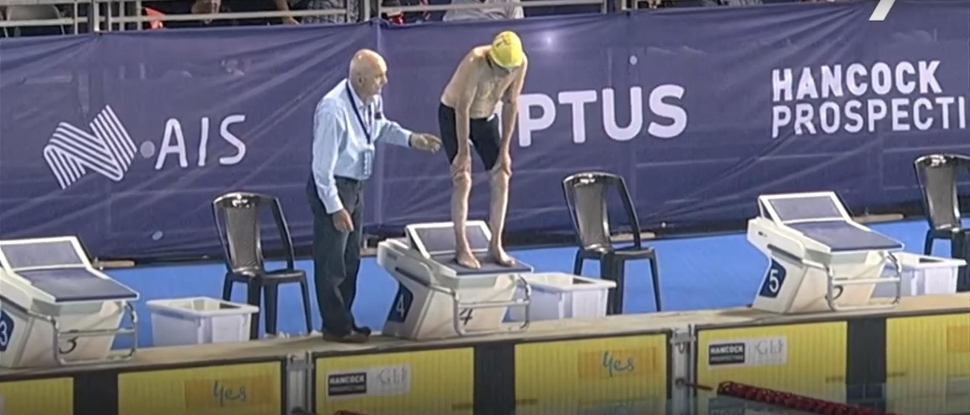澳近百歲老翁 打破人瑞組50公尺自由式世界紀錄