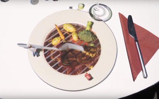 用餐不只是用餐!這間飯店讓餐桌變成表演舞台
