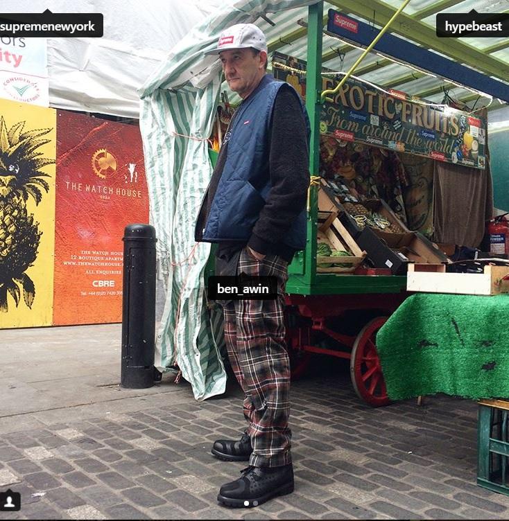 潮牌不是年輕人專利,英國阿伯全身穿搭好時尚