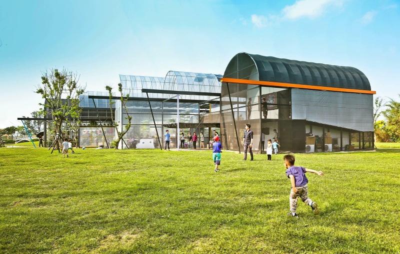 五座溫室搭建未來生活的家屋想像