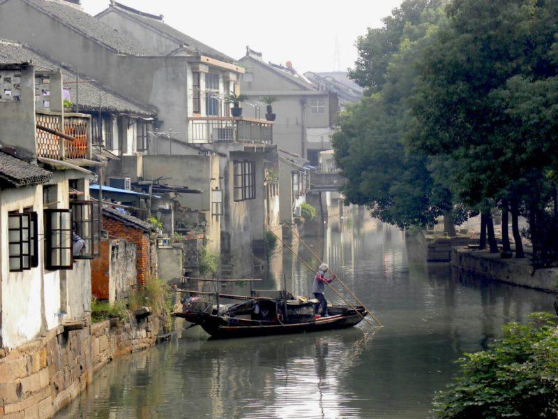 甪直古鎮散策,在小橋流水中慢活