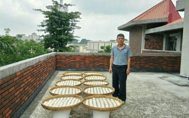 食安問題讓劉進發重返校園,把古法釀造變第二專業