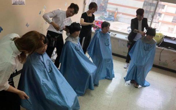 美髮師義剪讓長輩換髮型也換心情