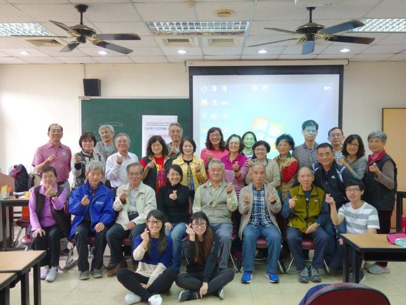 東海大學推動社區銀青共學,樂齡學習更有動力