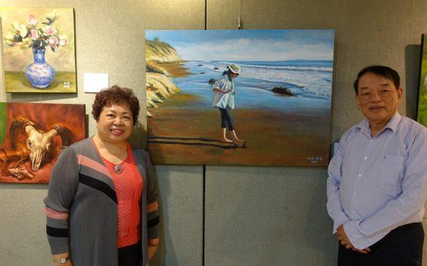 畫出「流金歲月」 退休夫婦靠繪畫重拾生活重心