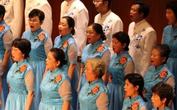 台北國際合唱大賽初登場,讓熟齡參賽者享受音樂
