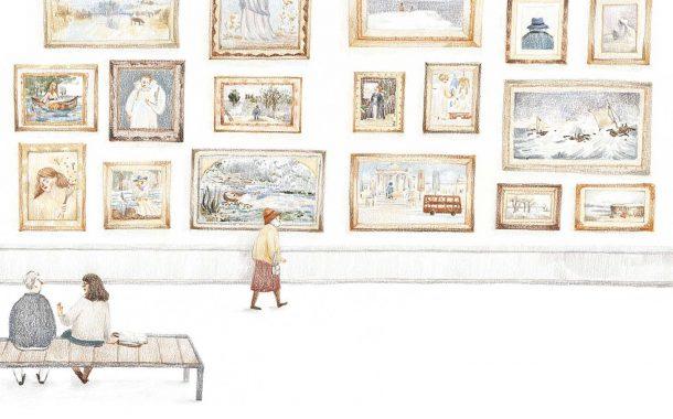 後青春繪本館|不同巧思手繪奇想世界