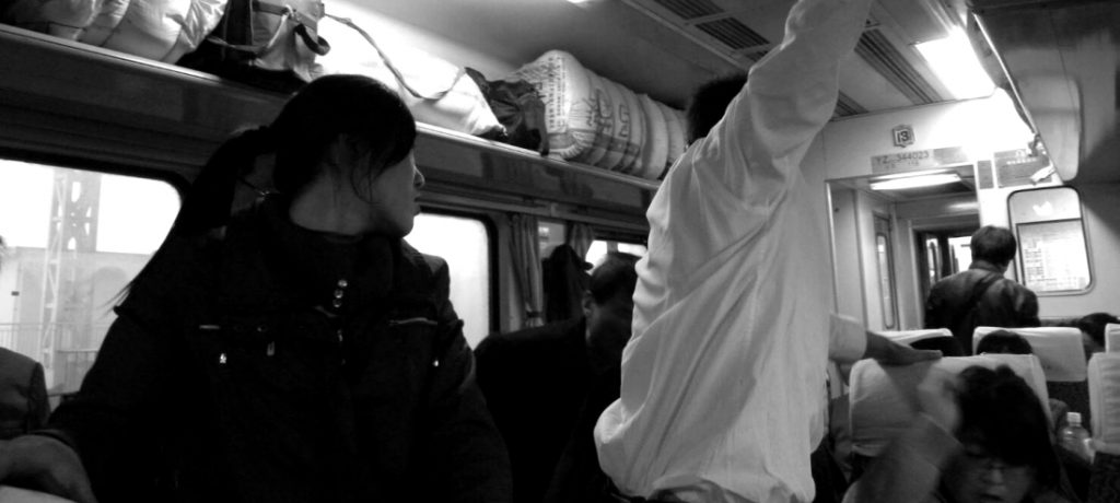 遊敦煌搭硬座車廂的氣味戰爭