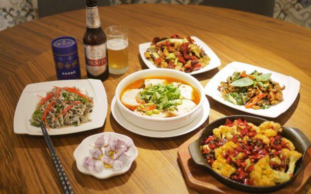 Anke百味|用川味豐富蔬食菜色 - 「祥和」榮登台北米其林唯一素食的秘訣