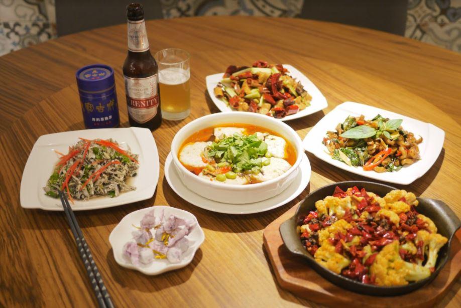 Anke百味 用川味豐富蔬食菜色 - 「祥和」榮登台北米其林唯一素食的秘訣