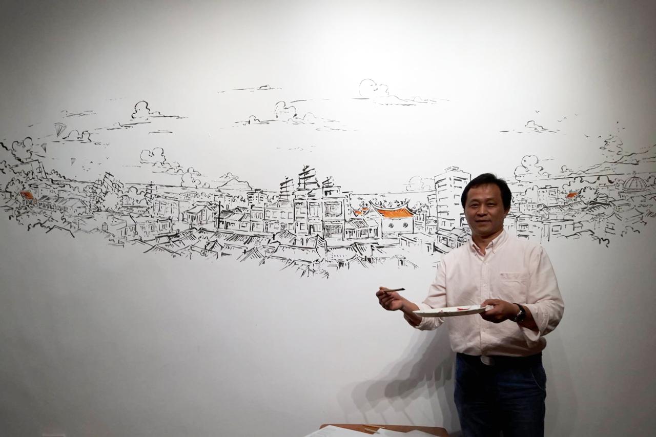 Anke人物|在中年危機找上門前,用一枝筆繪出新人生的 鉛筆馬丁
