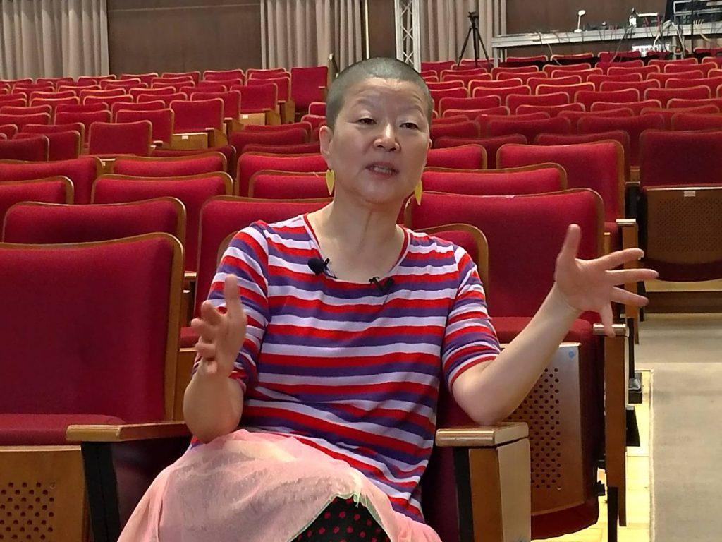 韓國舞蹈家安銀美