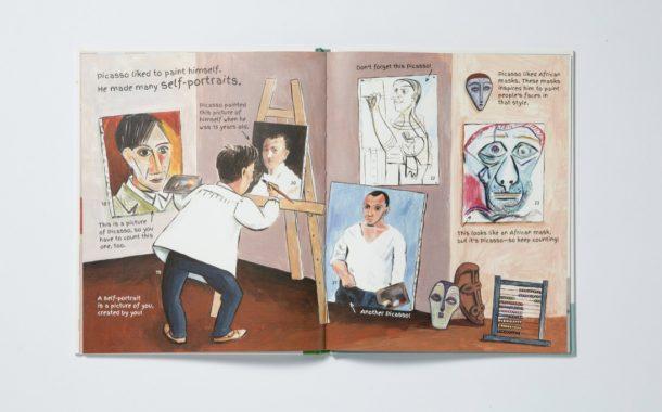 藝術迷必看繪本!跟著台灣繪本收藏家賴嘉綾 用不同方式認識梵谷、莫內、畢卡索與卡蘿