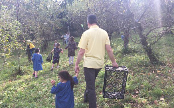 瑞士傳真|農村爺爺不退休,樂當孩子的大自然老師