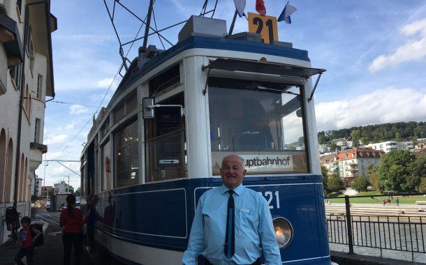 瑞士傳真|資深「電車男」 退而不休 ,做守護城市歷史的無名英雄