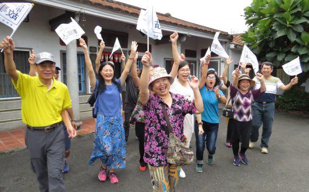 客家細妹當領隊,「 花甲故事旅人 」壯遊臺灣做自己的文化大使