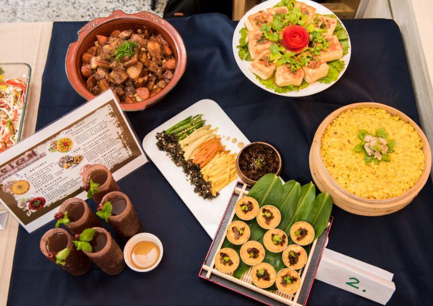 料理兼顧色香味俱全和健康養生概念,擺盤更是別具巧思,誘人食欲。(圖片提供/貓裡小學團)