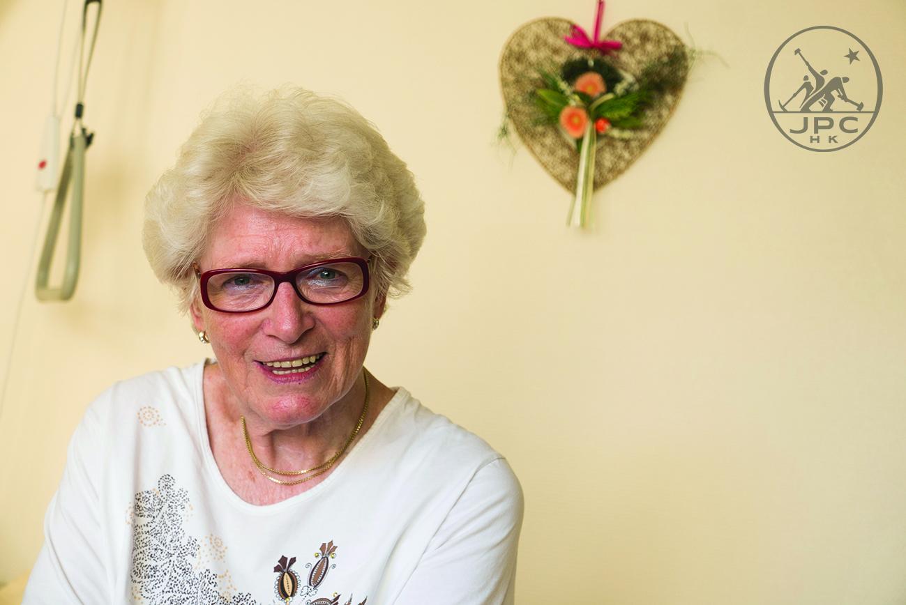 Anke人物|女人88照樣燦爛如花:她罹患骨癌、入住安養院,一樣有人追