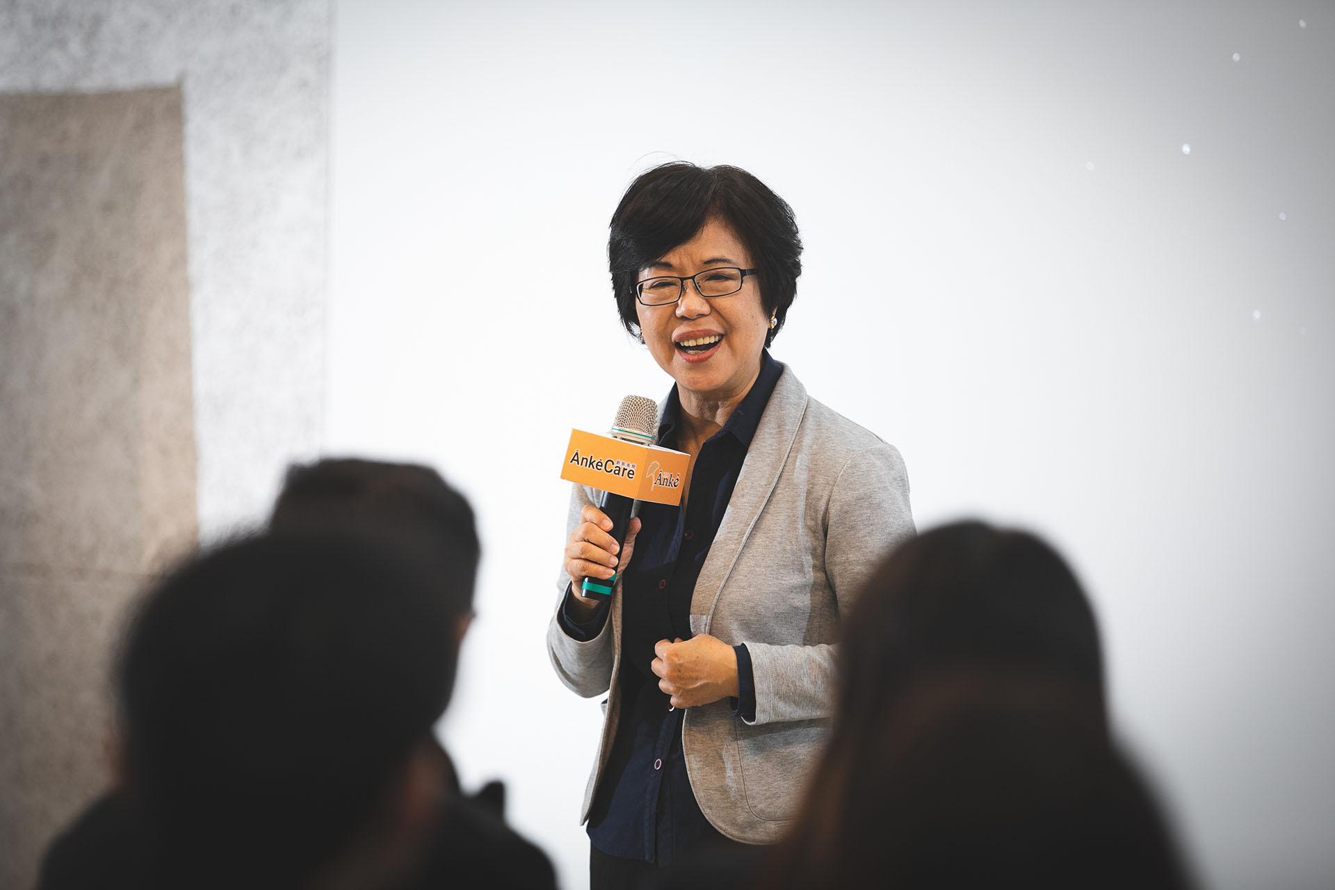 中華民國博物館學會友善平權委員會主委王長華致詞時則表示,很高興能和《安可人生》共同推動藝術共融、創意高齡。