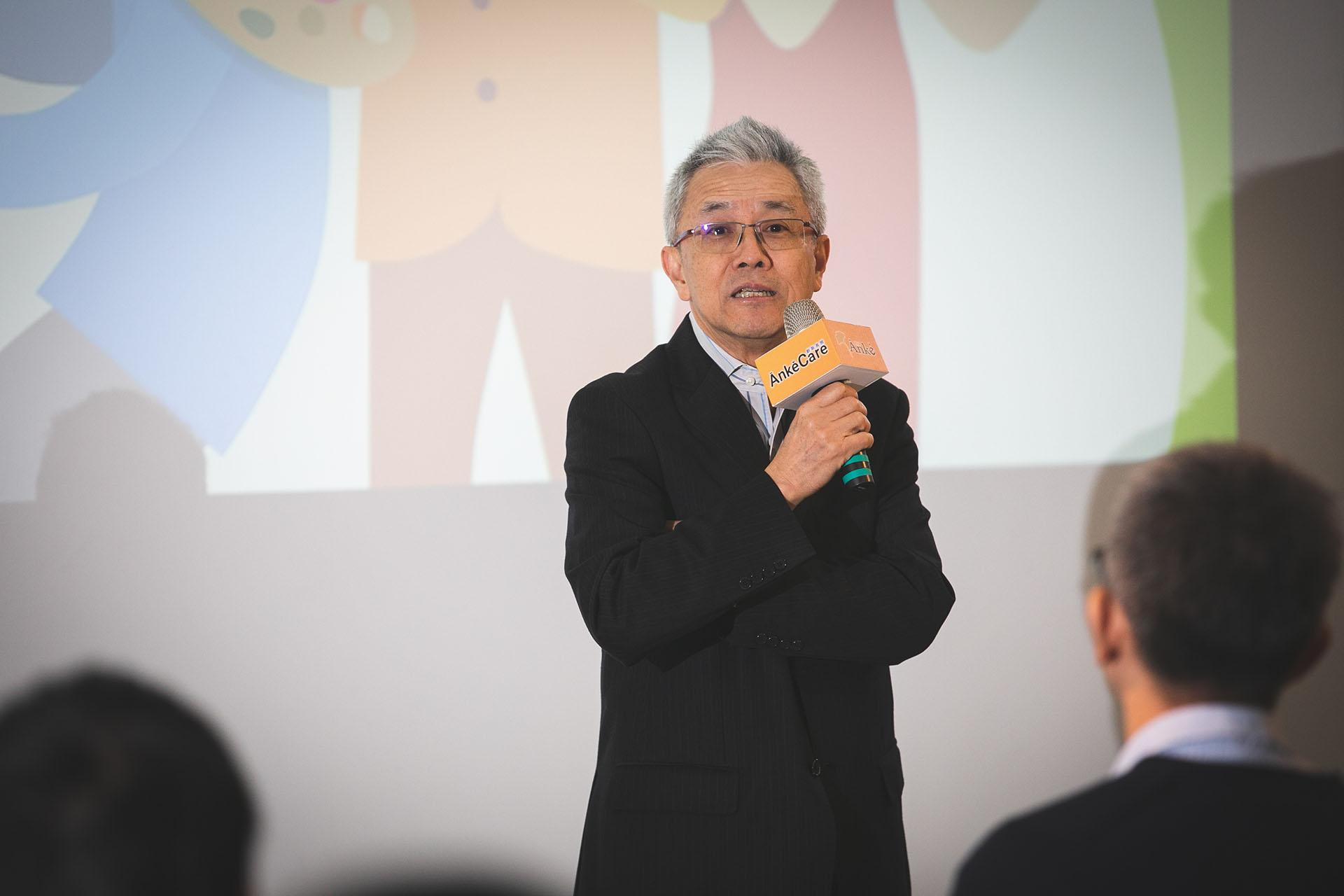 主辦單位《安可人生》雜誌創辦人李正雄先生致詞歡迎各界一同前來共襄盛舉。