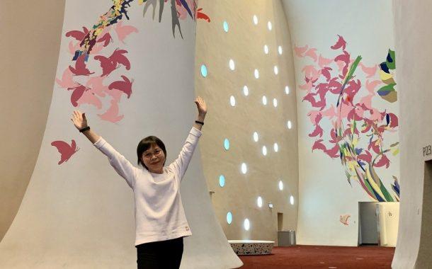 退休後一圓志工夢  楊滿時:「臺中國家歌劇院就像我家!」