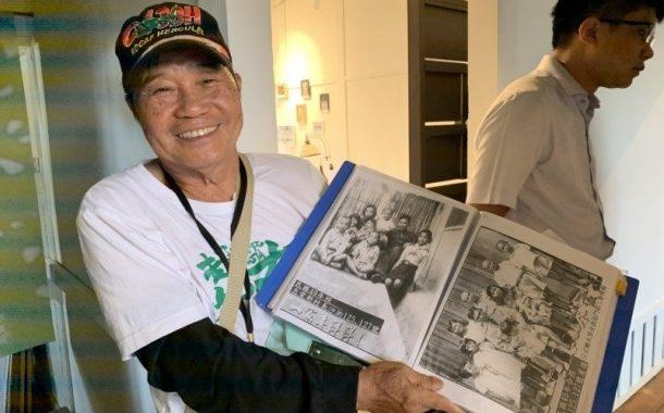 78歲小書包志工李必成:將眷村故事一代一代傳下去