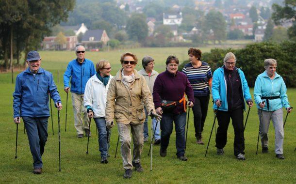 全球樂齡 | 透過北歐步行  強身健體抗病毒