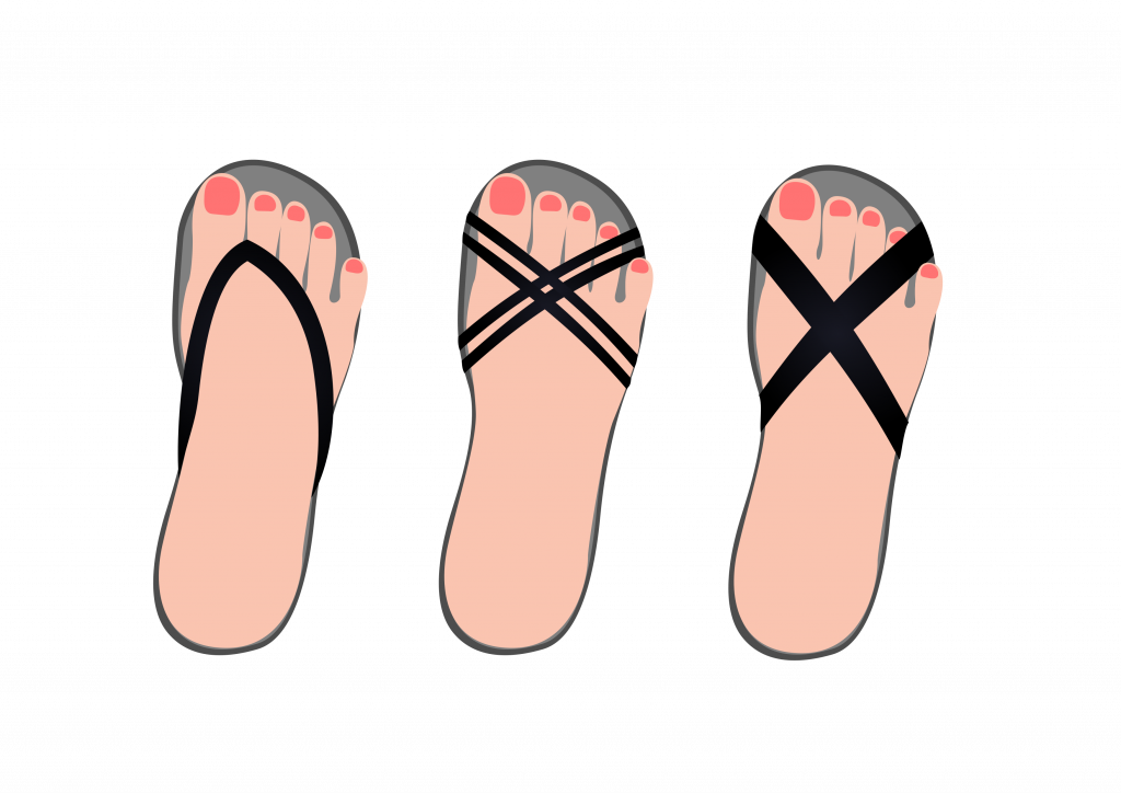 熟年時尚_涼鞋_腳背鞋帶