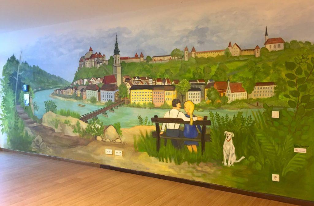 Art for Care_Georg-Schenk-Haus照護中心繪製完成的牆面-1