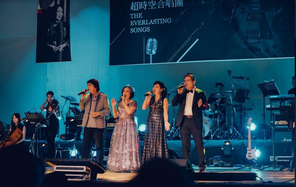 他們正在創齡,那你呢?  組樂團、登舞台, 超時空樂團用歌聲領聽眾穿梭難忘回憶