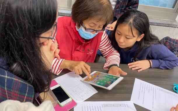 扣緊高齡趨勢,回應長輩需求|聖心女中透過手機教學,協助在地長輩健康促進