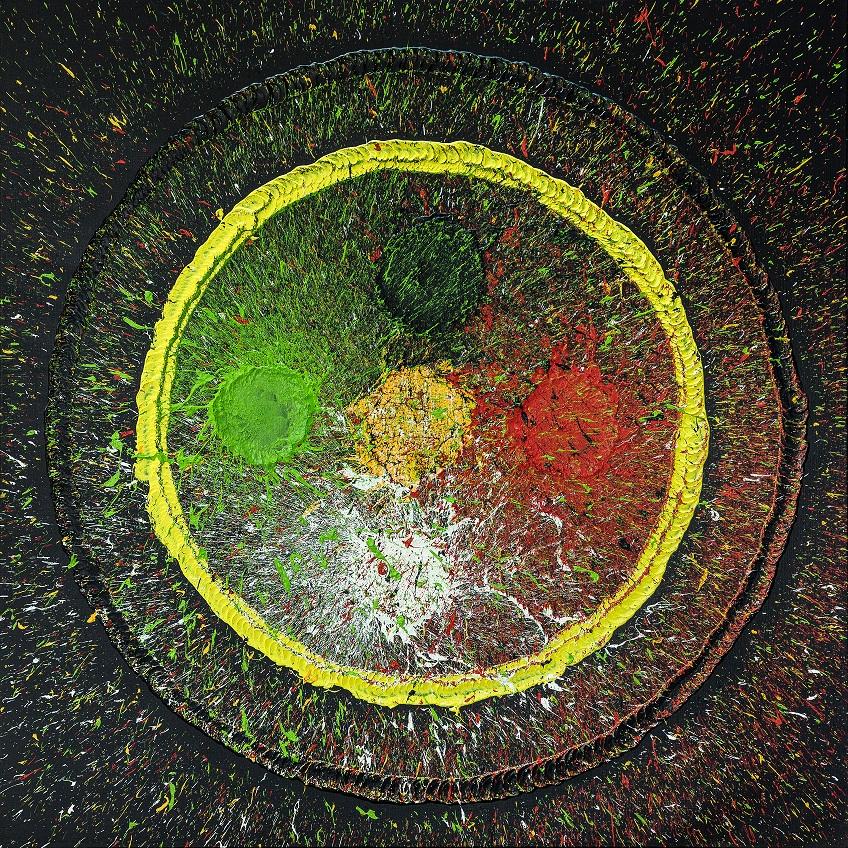 金馬賓館當代美術館2020年度壓軸《狂.禪》邵永添、邵雅曼雙個展。(圖片提供=高雄金馬賓館當代美術館)