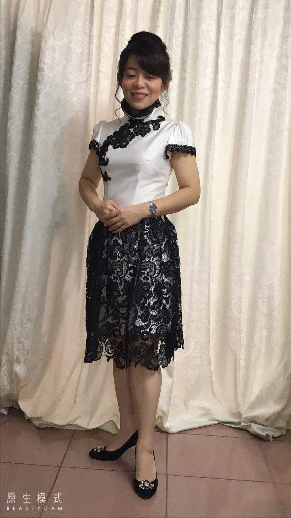旗袍示範-3