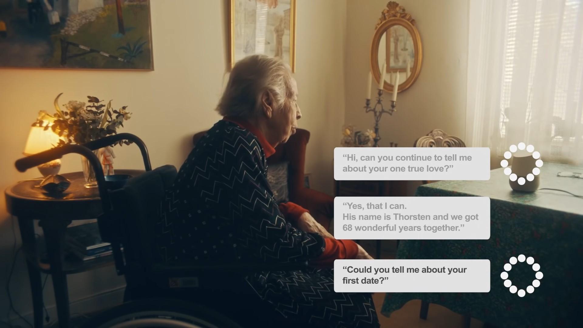 全球樂齡   全球第一個會主動提問的AI人工智慧機器人,陪長輩聊天、紀錄生命故事
