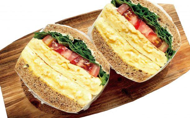 IG高人氣營養師 Rami的減肥食譜 ─ 覺得吃肉太負擔時,就改吃蛋吧!歐姆蛋三明治