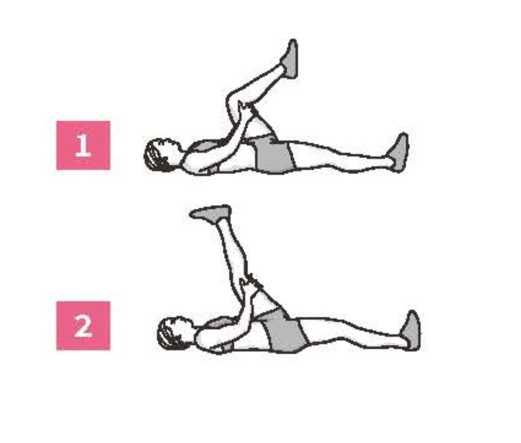大腿後側伸展