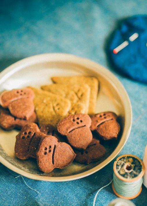 毛妹做的餅乾