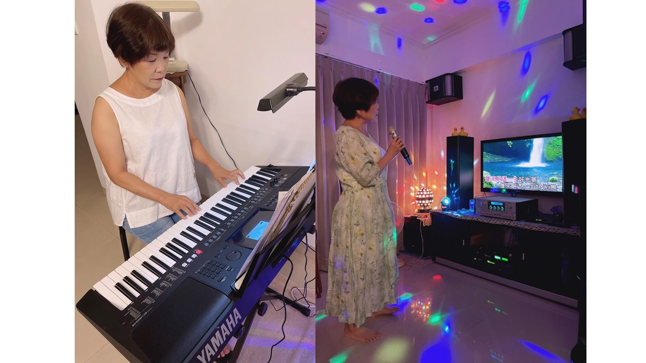宅家彈琴練唱