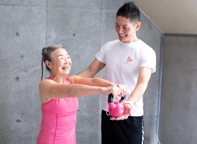 日本最高齡健身教練_瀧島奶奶-1