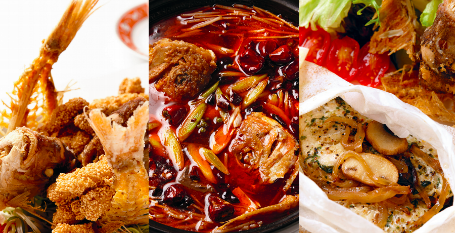 Anke 百味|料理示範──有魚、有餘,年節魚料理創意上菜