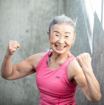 日本最高齡健身教練_瀧島奶奶-2